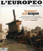 """CONCORSO A INVITI MINI DESIGN AWARD 2008 / L'Europeo """"Dare valore all'acqua"""". L'Europeo n.10, 11/2008, p.184."""
