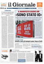 ARAGOSTA, ALA, 4MILLIMETRI / Il Giornale 17/04/2011, p.25.