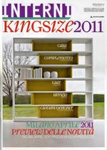 PRIMITIVI / Interni Kingsize 2011. Supplemento a Interni N.4, 04/2011, p.50.