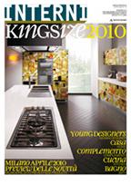 STUDIOCHARLIE / Interni Kingsize 2010. Supplemento a Interni N.4, 04/2010, p.133.