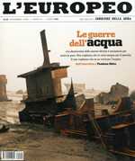 "CONCORSO A INVITI MINI DESIGN AWARD 2008 / L'Europeo ""Dare valore all'acqua"". L'Europeo n.10, 11/2008, p.184."