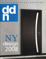 RIGO / DDN Design Diffusion News, Numero speciale New York Design 2008, supplemento a DDN N.150, p.125.