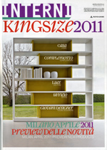 PRIMITIVI / Interni Kingsize 2011. Supplemento a Interni N.4, 04/2011, p.50.