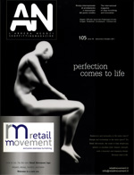 ALA / AN l'arreda negozi N105, anno 18, 09/2011, p.106.