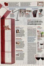 TAGLI NEL LEGNO / La Repubblica del 20 ottobre 2012, inserto Le guide di Repubblica, p.53.