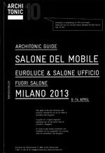 SPIGOLO / Architonic Guide. Salone del Mobile 2013, aprile 2013, p.22.