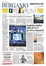 ECLIPSE / Corrierie della Sera edizione Bergamo 13/07/2018.